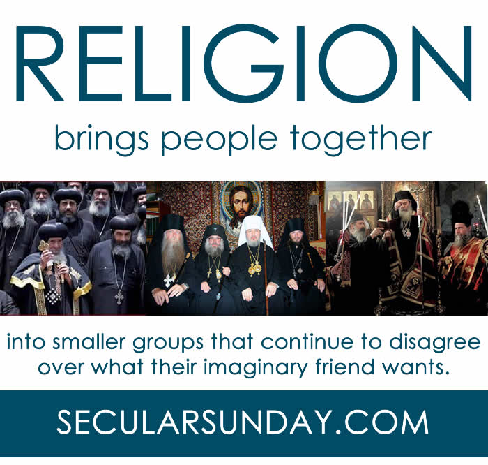 Religion-brings-people-together