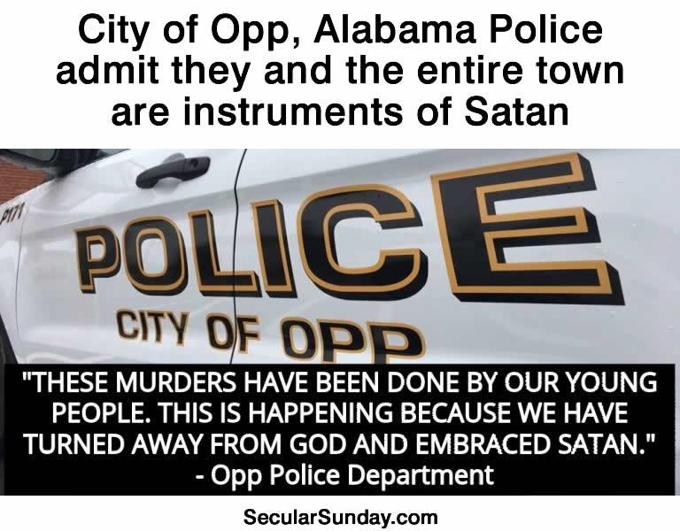 Opp-satan