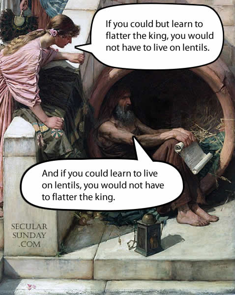 diogenes-lentils-and-flattery