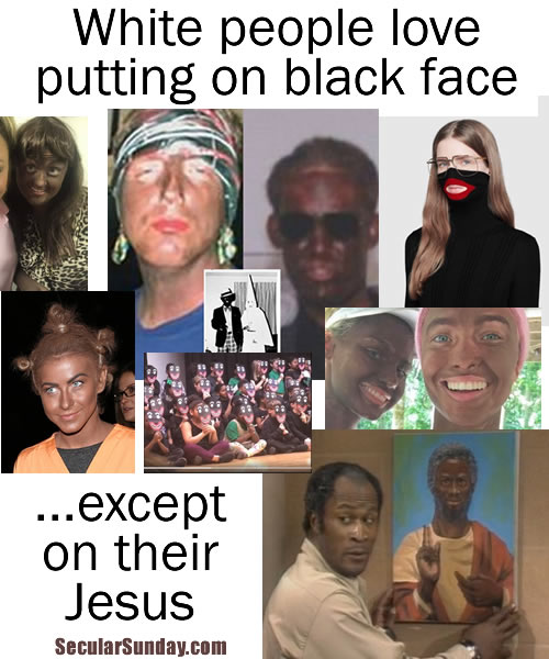 black-face-and-Jesus