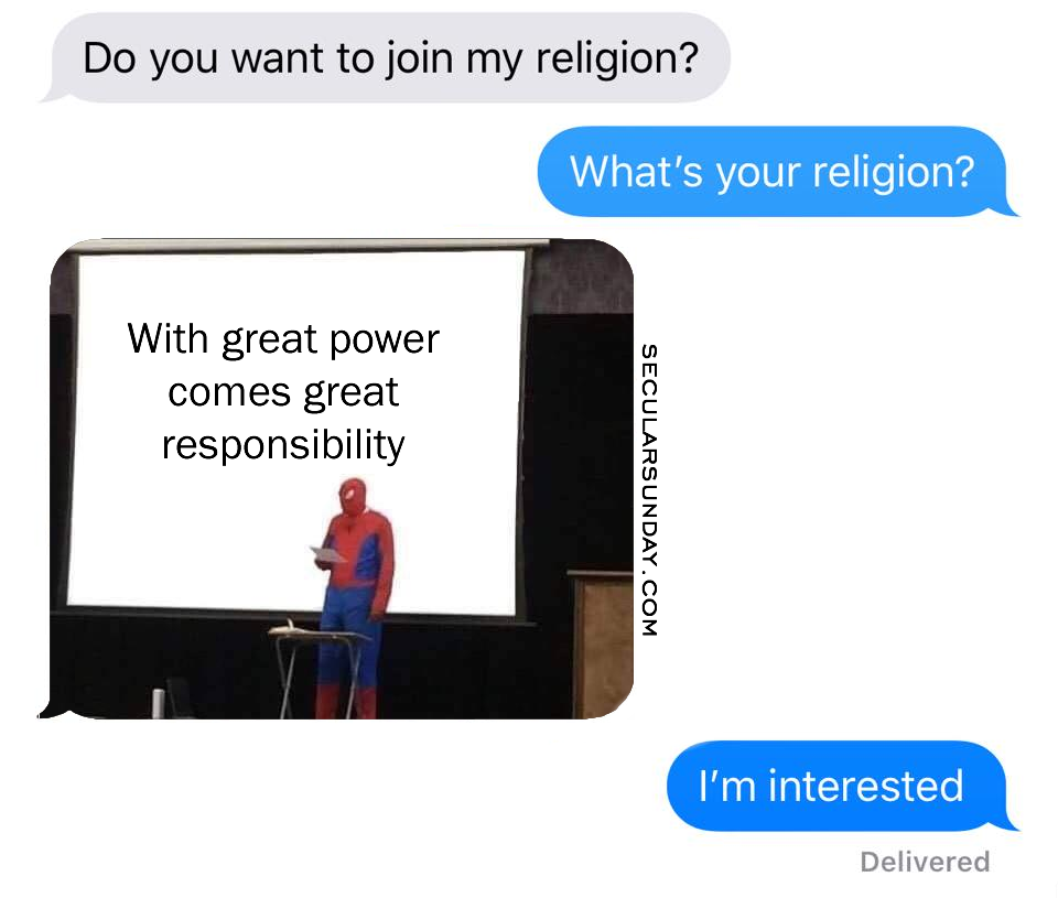 spiderman-whats-your-religion