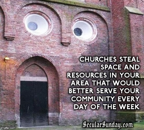 churches-steal-resources